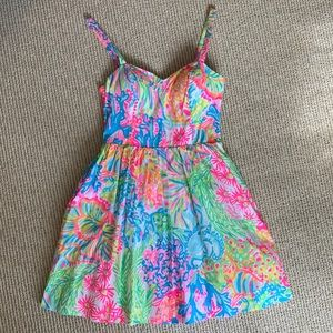 Lilly Pulitzer Ardleigh sundress in lovers coral